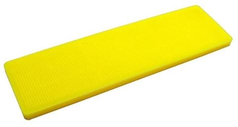 cale vitrage en pvc 4 mm jaune 26x100 cokto cales vitrage. Black Bedroom Furniture Sets. Home Design Ideas